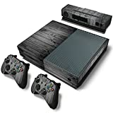 Mcbazel Pattern Series Decals Vinyl Skin Sticker for Xbox One (Gray Wood)