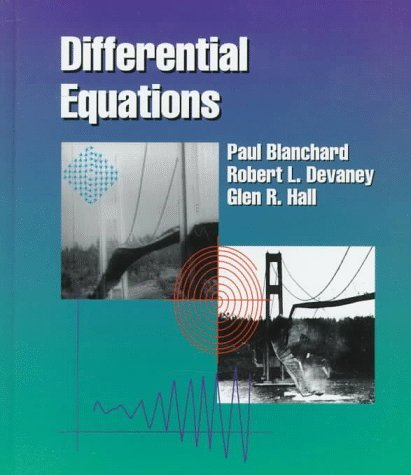 Differential Equations (Miscellaneous/Catalogs) by Paul Blanchard (1998-02-06)