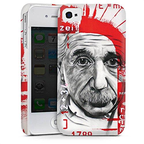 Apple iPhone 5s Housse étui coque protection Albert Einstein Dessin Art Cas Premium mat