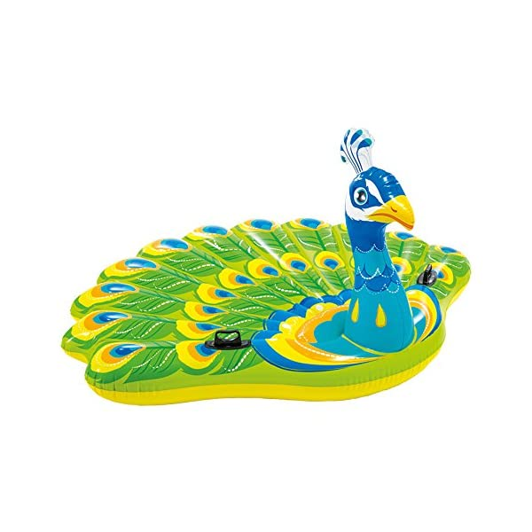 Intex 57250 - Isola Pavone, Multicolore, 193 x 163 x 94 cm 1 spesavip