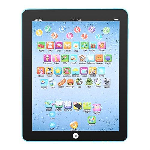 Baby Learning Pad Kids Educational Tablet Electrónico Niños Máquina de Aprendizaje Juguete de Desarrollo Regalo de Navidad para Entrenar Las Habilidades de Los niños y Desarrollar Talentos