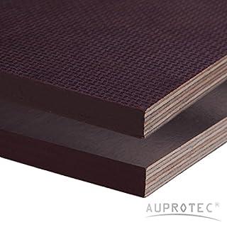 Siebdruckplatte 18mm Zuschnitt Multiplex Birke Holz Bodenplatte (30x70 cm)