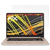 atFoliX Asus VivoBook S15 (S510UQ) Protezione Pellicola dello Schermo - 2 x FX-Antireflex-HD ad alta risoluzione antiriflesso Pellicola Proteggi