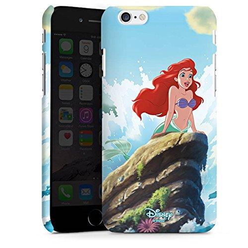 Apple iPhone X Silikon Hülle Case Schutzhülle Disney Arielle die Meerjungfrau Geschenke Merchandise Premium Case matt