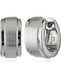 Esprit Damen-Creolen 925 Sterling Silber rhodiniert Ohne ESCO91895A000