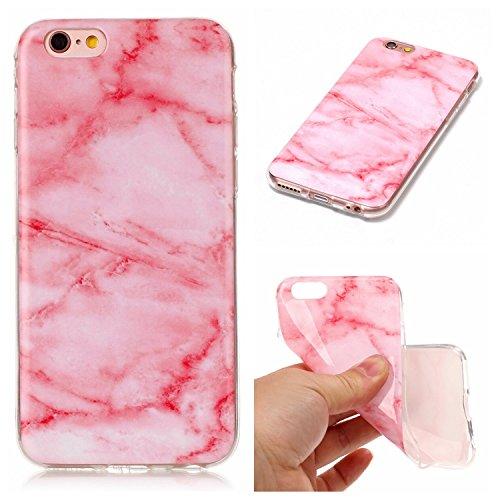 EKINHUI Case Cover Für Apple IPhone 6 & 6s Plus Rückseiten-Abdeckung Weiche flexible dünne u. Leichte bunte TPU pretektive Silikon-Kasten-Abdeckung ( Color : A ) A