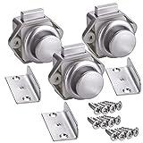 3 x SO-TECH Push-Lock Schloß Möbelschloß Druckknopf für Caravan & Boote