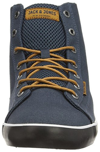 Jack & Jones Jj Cardiff Mesh High Top Core, Sneakers Hautes homme Bleu (midnight Navy)
