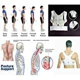 #6: MSE Size: XL*(pack of 1 )High Quality Posture Support Corrector Adjustable Belt Back Pain Lumbar Belt Brace Shoulder Support Correction Belt(size may vary)