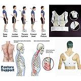 #10: ShopyBucket 1pc High Quality Correct Belt Power Magnetic Posture Sport Back Support Strap Postural Correction Belt vest(pack of 1 )