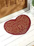 Zerbino cuore rosso ANGELICA Home & Country