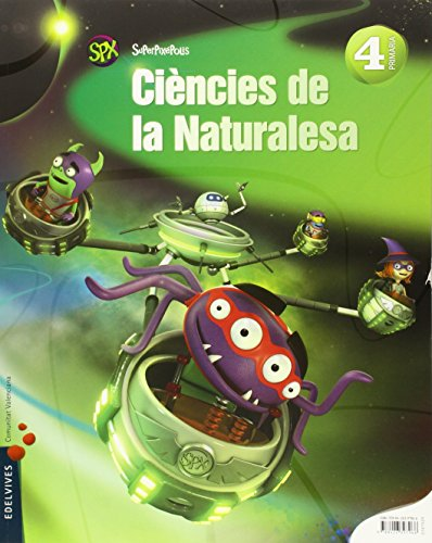 Ciencias de la Naturalesa 4º Primaria (valenciano) (Superpixépolis) - 9788426397966 por Jose Javier Garcia Iglesias