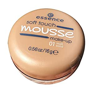 essence Soft Touch Mousse Make-up NR. 01 - MATT S AND 16 g