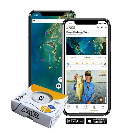 Angel Bullseye Angel-Tracker mit Clip, inkl. GPS-App - Fisch-finder Mit Gps
