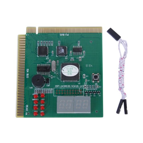 Generic PC Diagnostic Card 4-Digit ISA PCI POST Analyzer Tester