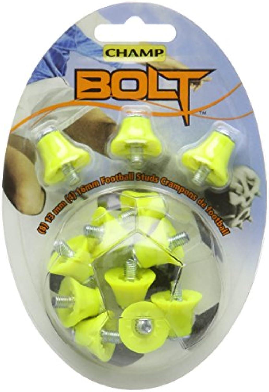 CHAMP Bolt  Stollen für Fußballschuhe 12 Stück  Orange 405164