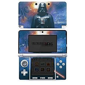 DeinDesign Skin kompatibel mit Nintendo 3 DS Aufkleber Sticker Folie Star Wars Merchandise Fanartikel The Dark Side