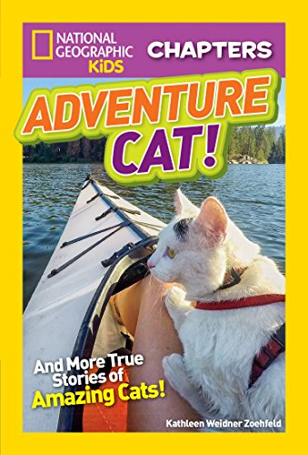 National Geographic Kids Chapters: Adventure Cat! (NGK Chapters) (English Edition) por Kathleen Weidner Zoehfeld