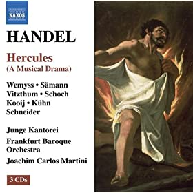 Hercules, HWV 60: Act II: Recitative: O, glorious pattern of heroic deeds! (Dejanira)