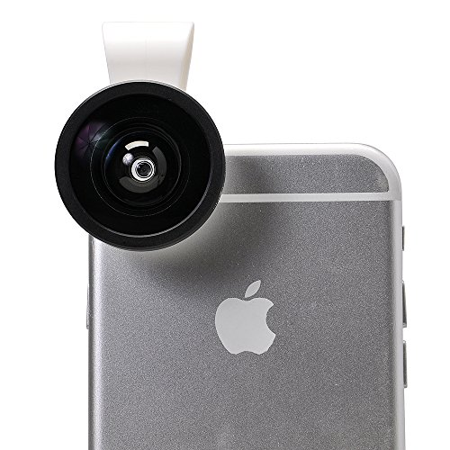 Apexel Universal Clip 0.4X Super Wide Angle Selfie Mobile Phone Lens for iPhone 6 6Plus 5 5S 4S 4 HTC Samsung LG Most Phones Tablets