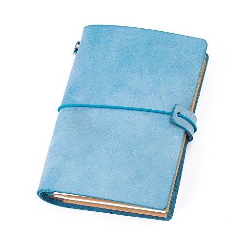 Cuaderno de notas de cuero. Hecho a mano.