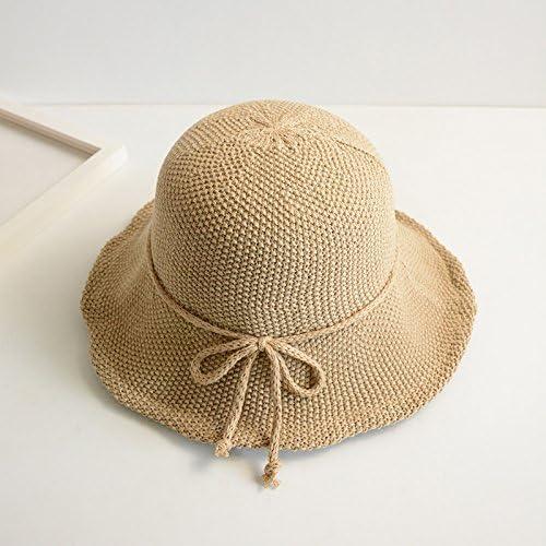 YMFIE Ladies' Estate Ampia Casual ed Elegante frangisole Esterno Spiaggia Spiaggia Spiaggia cap Lavabile Pieghevole Hat Hat per i Pescatori,B | Design lussureggiante  | prezzo di vendita  41bcaa