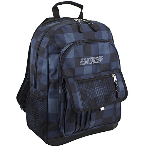 eastsports-basic-tech-backpack-rucksack-fur-alle-gelegenheiten-blau-kariert