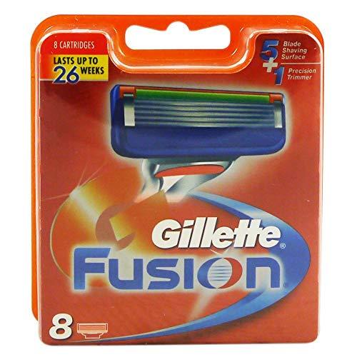 Gillette 8 Klingen Fusion Rasierklingen (8 Stück)