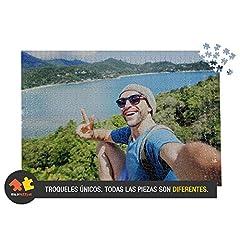 Idea Regalo - Solopuzzles Puzzle Personalizzato con la Tua Foto Preferita. 1000 Pezzi (68 x 48 cm). 10 Formati Disponibili (da 48 a 3000 Pezzi)