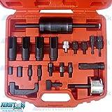 Kit Injecteur Extracteur Diesel pour le retrait de pièces: Bosch, Delphi, Denso et Siemens