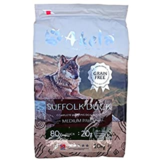 Akela Suffolk Duck VAT free for working dogs (Medium paw 10kg) 8
