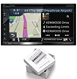 Kenwood DNX5180DABS Radio Navigation Antenne mit Einbauset für Ford Kuga (DM2 Facelift) ab 2013 Piano Black
