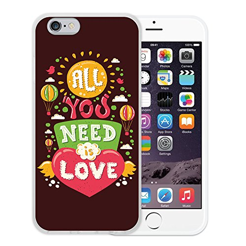 iPhone 6 6S Hülle, WoowCase Handyhülle Silikon für [ iPhone 6 6S ] Carpe Diem Handytasche Handy Cover Case Schutzhülle Flexible TPU - Transparent Housse Gel iPhone 6 6S Transparent D0227