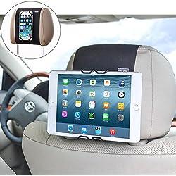WANPOOL Soporte de tablet para coche - Reposacabezas