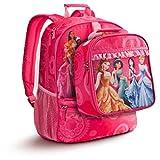 Disney Store Multi Princesse Sac à dos et sac à déjeuner de Raiponce Ariel