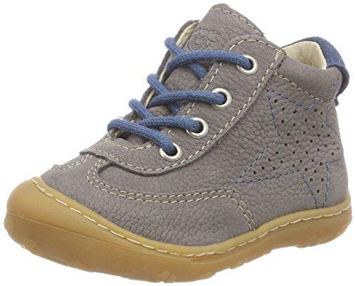 RICOSTA Baby Jungen SAMI Sneaker, Grau (Graphit 450), 22 EU