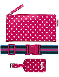 Cath Kidston Little Spot accesorios de equipaje Set de regalo rosa