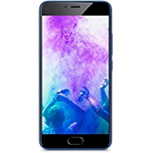 "Meizu M5 - Smartphone libre 4G de 5.2"" (Bluetooth 4.1, 3 GB de RAM, memoria interna de 32 GB, cámara de 13 MP, Android) color azul"
