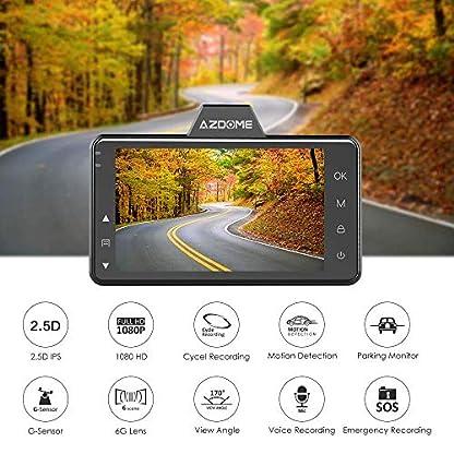 AZDOME-Autokamera-mit-170-Weitwinkelobjektiv-1080P-Dashcam-mit-Super-Nachtsicht-Dash-Cam-mit-Loop-Aufnahme-Dash-Camera-mit-G-Sensor-Parkmonitor-und-BewegungserkennungM01