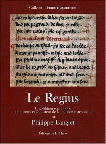 Regius (le) par Philippe Langlet