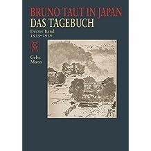 Bruno Taut in Japan: Das Tagebuch. Dritter Band 1935–36