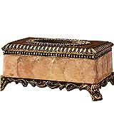 GH Ornamente Dunkelbraun Europäischen Luxus Tissue Box Vintage Buch Box Home Wohnzimmer Tisch Couchtisch Ornamente Amerikanischen Alten Dekorationen