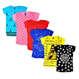 Point7even Girls Tops pack of 6 Combo (G...