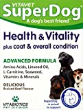 Vitabiotics SuperDog Health and Vitality - 30 Chewable Tablets from VITABIOTICS LTD