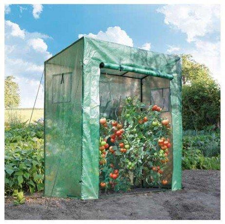 Serre à tomates 198 x 78 x 200 cm - longueur : 1.98 m