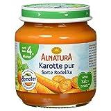 Alnatura Bio Karotte pur, nach dem 4. Monat, (6 x 125 g)