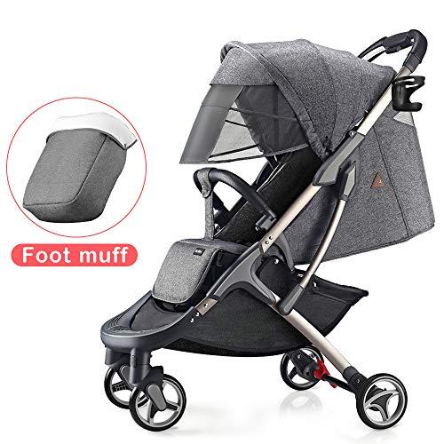 Hot Mom silla de paseo ligera silla de paseo ligera silla de paseo adecuada para viajar, 2020 Nueva...