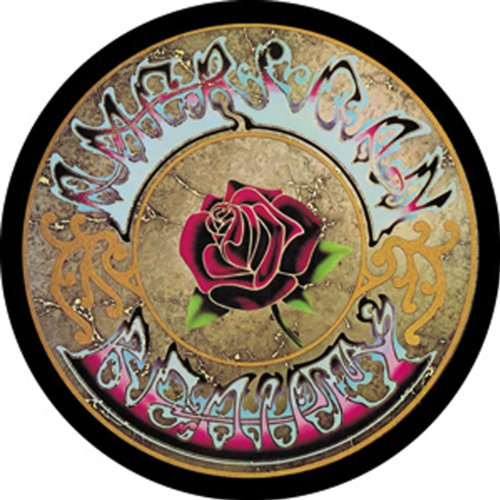 "GRATEFUL DEAD American americano Beauty bellezza GDP Inc. MAGNET, Officially Licensed Products Classic Rock 3"" x 3"" High Quality qualità MAGNET"