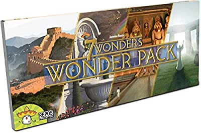 Asmodee - SEV04MU02 - 7 Wonders - l'Extension Wonder Pack