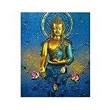 KoGia Buddha 5D DIY Diamond Painting Embroidery Cross Craft Stitch Kit Home Wall